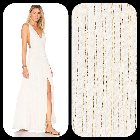 House of Harlow 1960 Dresses & Skirts - REVOLVE HOUSE OF HARLOW  DRESS IN Gold & White